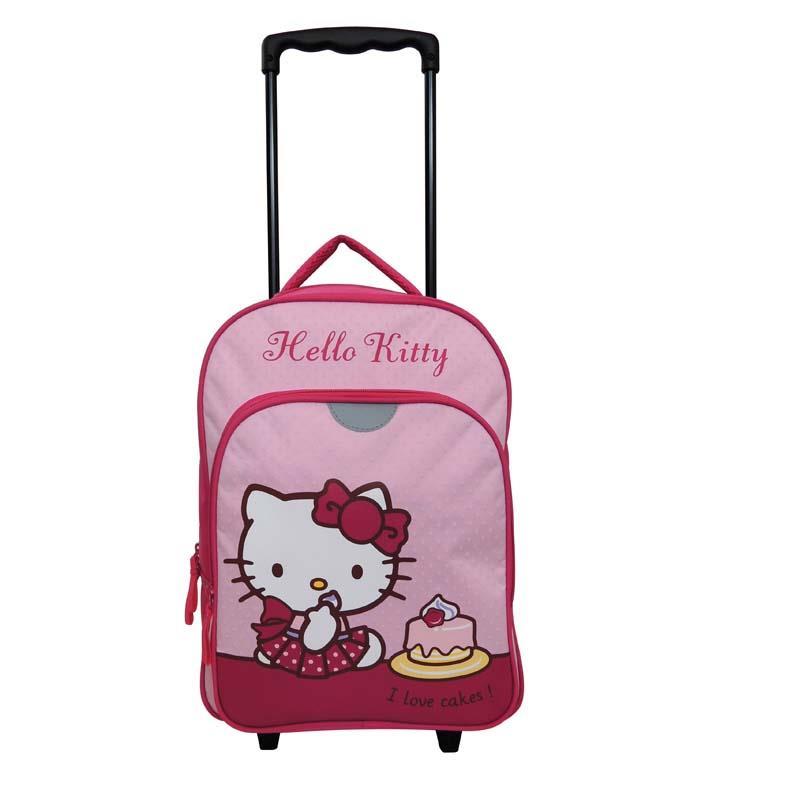 Bagtrotter - Bagtrotter τσάντα δημοτικού τρόλευ hello kitty 40x29x13εκ. - - - - 30494------2