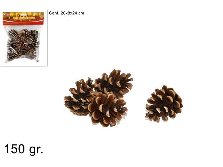 Next - Χριστουγεννιάτικα διακοσμητικά κουκουνάρια blister των 150γρ. - - - - 24977------2