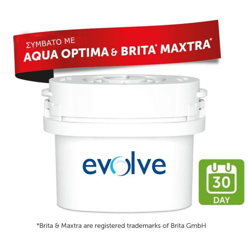 AQUA OPTIMA - Αντικαθιστά BRITA MAXTRA - Ανταλλακτικό Φίλτρο 1τμχ - Aqua Optima  είδη σπιτιού   φίλτρα  amp  συστήματα φιλτραρίσματος   ανταλλακτικά φίλτρα