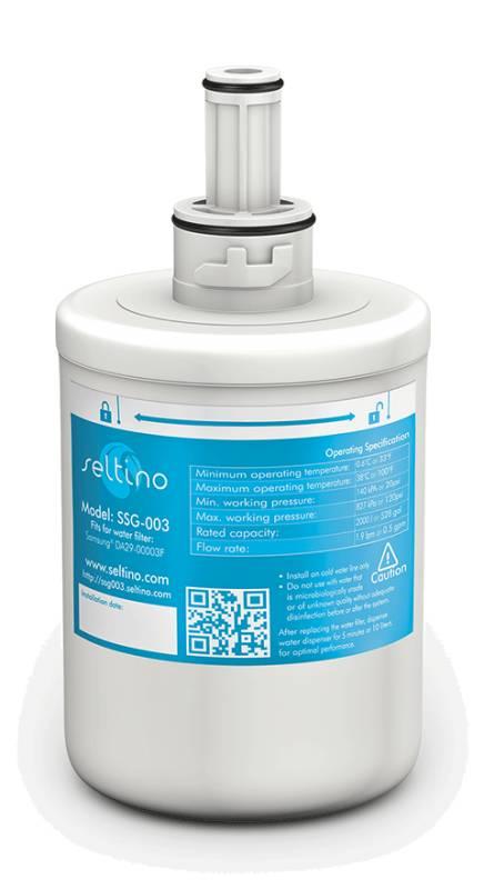 SELTINO - SELTINO SSG-003 Εσωτερικό Φίλτρο Νερού για Samsung ( Αντικαθιστά Aqua  είδη σπιτιού   φίλτρα  amp  συστήματα φιλτραρίσματος   φίλτρα ψυγείου