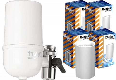 DEFORT - Defort DWF-500 On Tap Σύστημα Φιλτραρίσματος Νερού Βρύσης+ Defort DWF-1 είδη σπιτιού   φίλτρα  amp  συστήματα φιλτραρίσματος   συστήματα φιλτραρίσματος