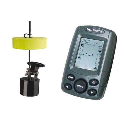 Αδιάβροχο βυθόμετρο ψαρέματος  / radar με Sonar και οθόνη 2.4