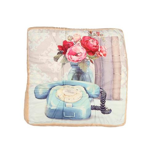 Μαξιλάρι δαπέδου 43Χ43Χ7 εκ. PHONE - TNS 39-950-1474C
