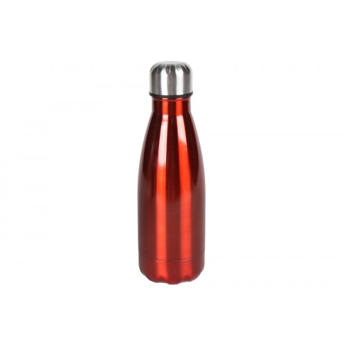 Θερμός μπουκάλι 350 ml Φ7Χ22,5 εκ. κόκκινο  6115-1