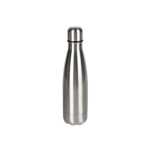 Θερμός μπουκάλι 500 ml Φ7Χ27 εκ. ΙΝΟΧ  6116-3
