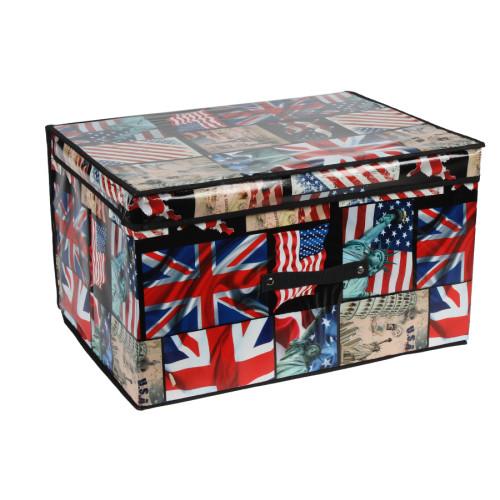 Κουτί αποθήκευσης πτυσσόμενο 50Χ40Χ30 εκ. LONDON  48561-2