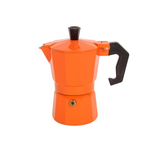 Καφετιέρα - μπρίκι Espresso για 2 φλιτζάνια χρ. πορτοκαλί  HLP1-2C.03