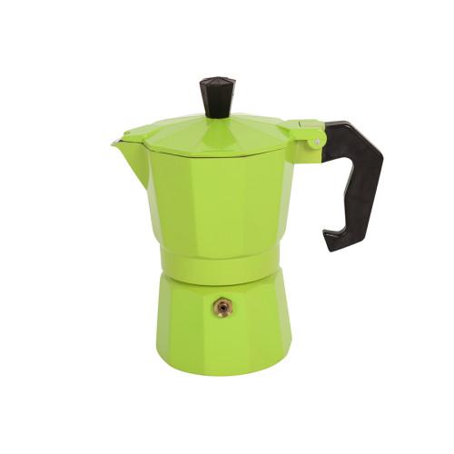 Καφετιέρα - μπρίκι Espresso για 2 φλιτζάνια χρ. πράσινο  HLP1-2C.04