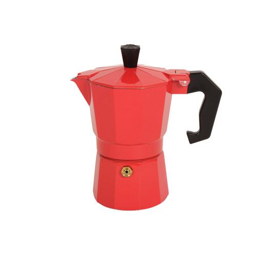 Καφετιέρα - μπρίκι Espresso για 2 φλιτζάνια χρ. κόκκινο  HLP1-2C.02