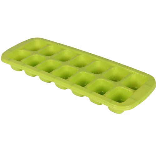 Παγοθήκη πλαστική 14 θέσεων 27Χ10Χ2,5 εκ. χρ. πράσινο  2716-1