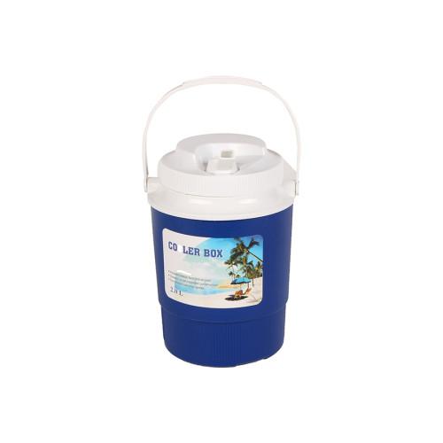 Θερμός πλαστικός 2 λίτρα με βρυσάκι στο καπάκι χρ. μπλε  9193-3