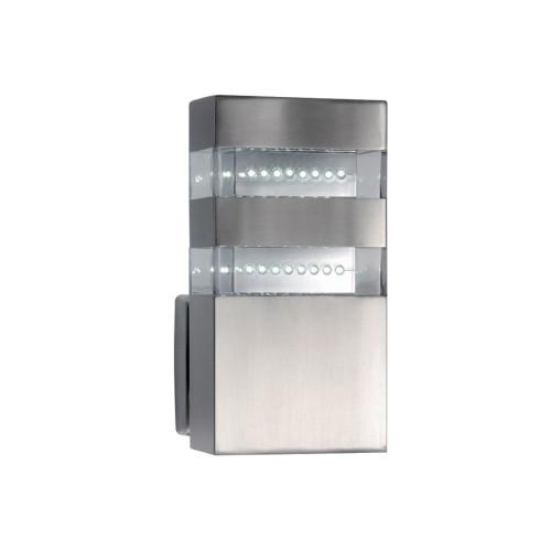 Απλίκα φανάρι εξωτερικού χώρου ανοξείδωτη 48 Χ LED - HL1004