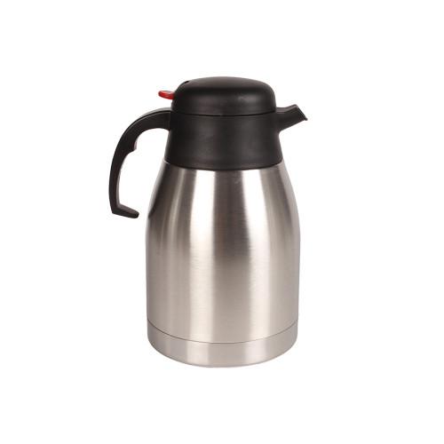 Κανάτα θερμός ΙΝΟΧ 1,5 lt (1500 ml) Φ13,7Χ24 εκ. με εσωτερικό τοίχωμα από ανοξείδωτο  1500