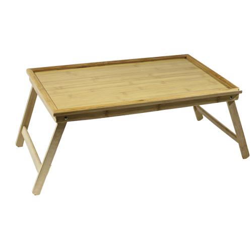 Δίσκος κρεβατιού ξύλινος 50Χ30Χ22 εκ.  61190