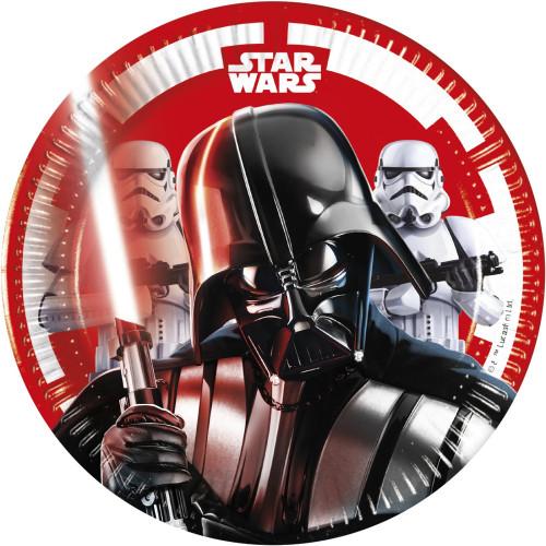 Χάρτινα Πιάτα Star Wars Final Battle Μεσαία