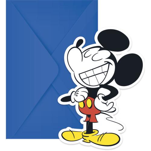 Προσκλητήρια Και Φάκελοι Mickey Super Cool