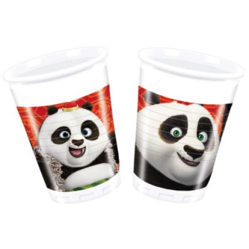 Πλαστικά Ποτήρια Kung Fu Panda