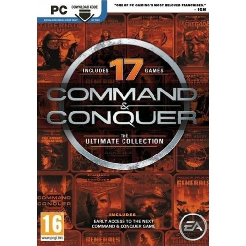 PC Command And Conquer : The Ultimate Collection (Downloadable) (EU)