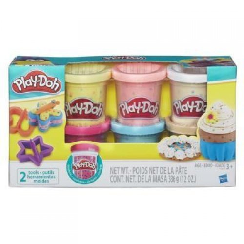 Hasbro Play-Doh - Confetti Compound Collection (6pcs) (B3423)