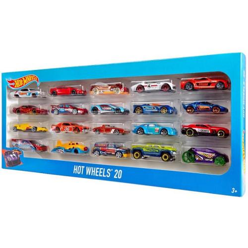 HOT WHEELS - 20 CAR GIFT PACK (H7045) (Random)
