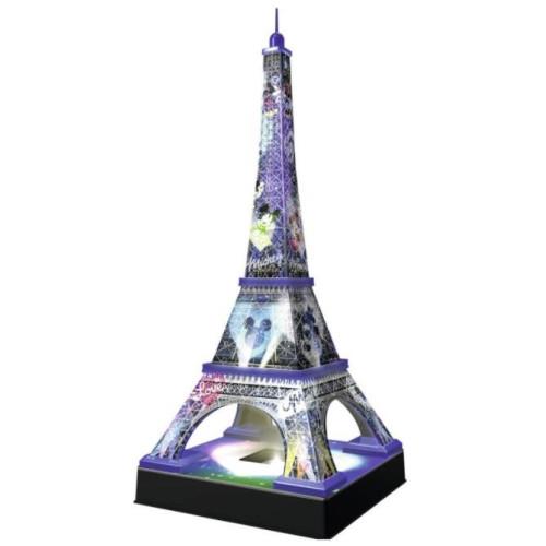 Ravensburger - 3D Puzzle La Tour Eiffel Disney Night Edition (216pcs) (12520)