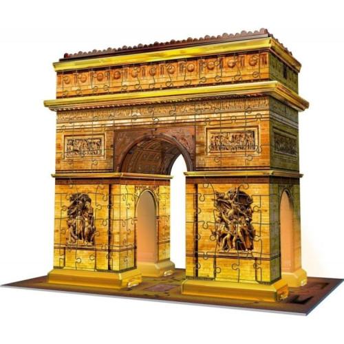 Ravensburger - 3D Puzzle Arc De Triomphe Night Edition (216pcs) (12522)