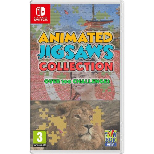 NSW Animated Jigsaws Collection (Code in a Box)