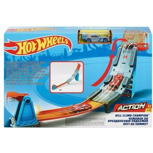 Hot Wheels Action - Hill Climb Champion Track Set (GBF83)
