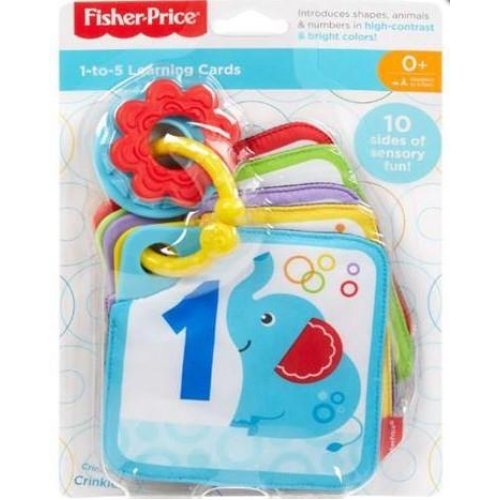 Fisher Price 1-To-5 Learning Cards (FXB92)