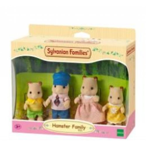 Sylvanian Families - Οικογένεια Hamster (5121)