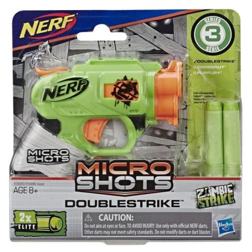 Hasbro Nerf Microshots: Zombie Strike - Doublestrike (E3000EU40)