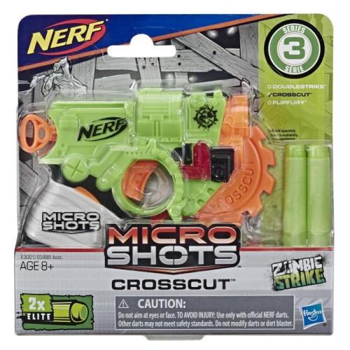 Hasbro Nerf Microshots: Zombie Strike - Crosscut (E3001EU40)