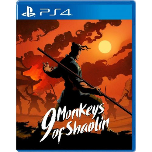 PS4 9 Monkeys of Shaolin (EU)