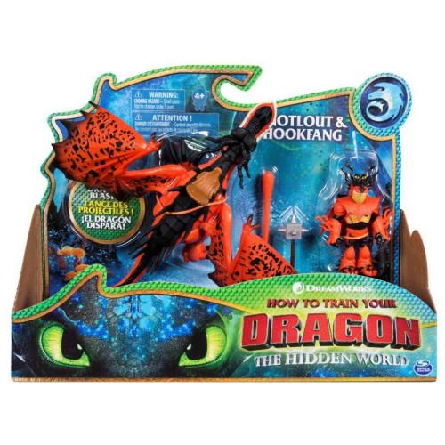 Spin Master - How to Train Your Dragon - Dragon & Viking - Snotlout & Hookfang (20103710)