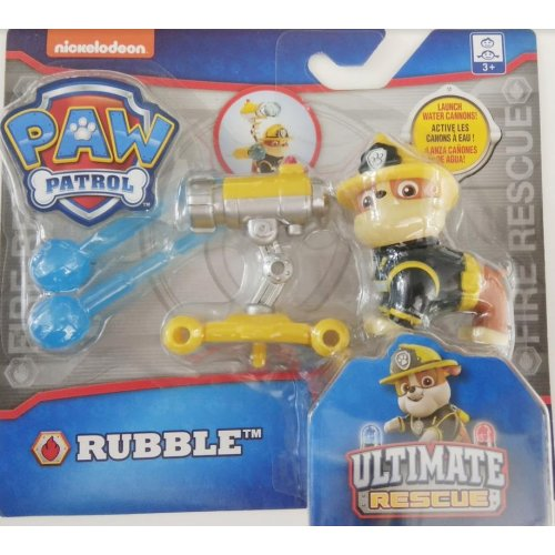 Spin Master - PAW Patrol Ultimate Fire Rescue - Rubble with Water Cannons! (20103602)