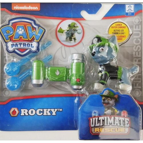 Spin Master - PAW Patrol Ultimate Fire Rescue - Rocky with Water Cannons! (20103604)