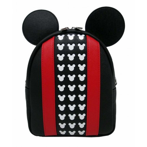 Loungefly - Disney Mickey Applique and Debossed Detail Backpack (WDBK0648)