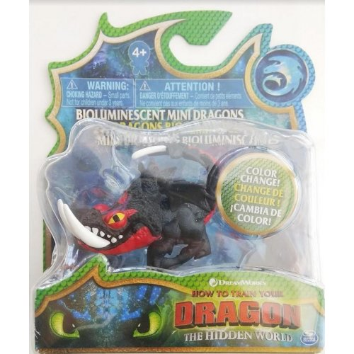 Spin Master - How to Train Your Dragon Bioluminescent Mini Dragons - Deathgripper (20107343)