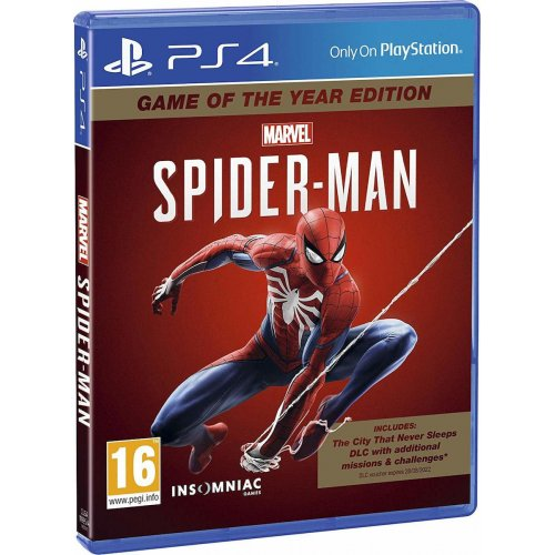 PS4 Marvel's Spider-Man - Game of the Year Edition (EU)