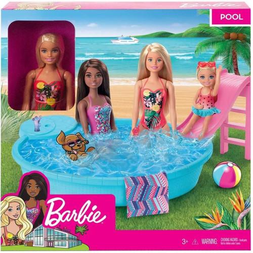 Barbie Εξωτική Πισίνα Με Κούκλα (GHL91)