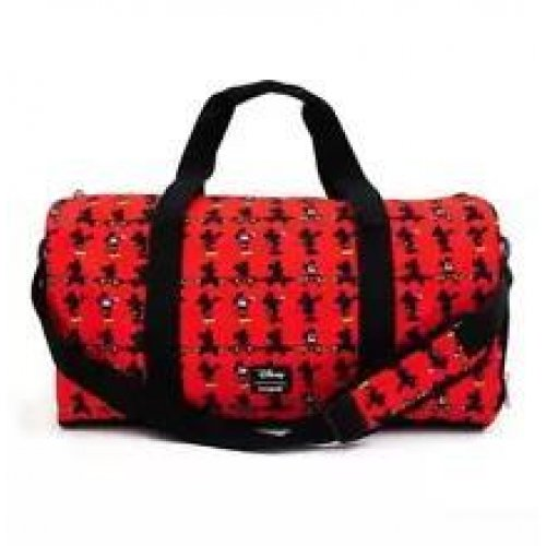Loungefly Disney: Mickey Mouse Parts AOP Duffle Bag (WDTB1829)