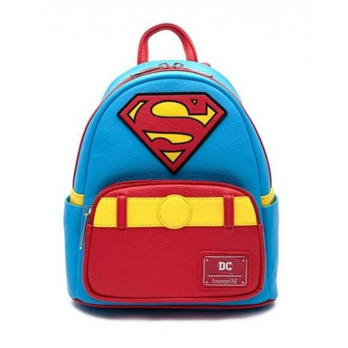 Loungefly Dc Comics Vintage Superman Cosplay Mini Backpack (DCCBK0042)