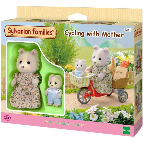 Sylvanian Families: Cycling with Mother (4281)