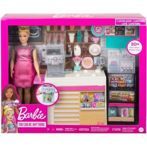 Mattel Barbie - Coffee Shop Playset (GMW03)