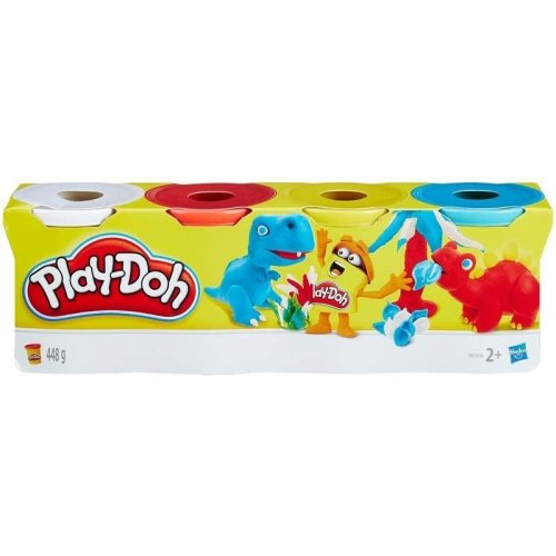 Hasbro Play-Doh - Classic Color Tubs (Pack of 4) (B6508)