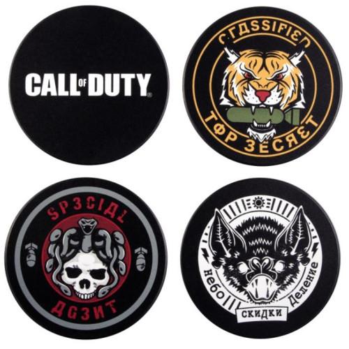 Gaya COD: Cold War - Badges Coaster Set (GE4244)