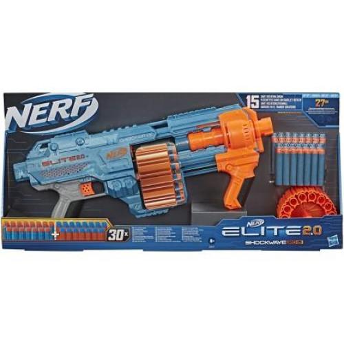 Hasbro Nerf: Elite 2.0 - Shockwave RD-15 Blaster (E9527)