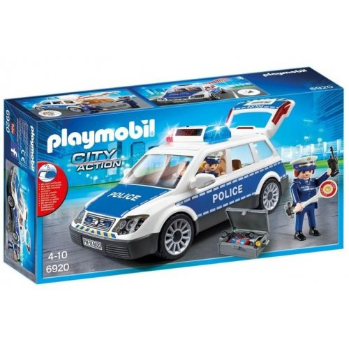 Playmobil® City Action - Squad Car With Lights and Sound (6920)