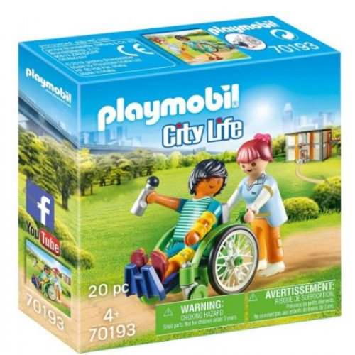 Playmobil® 1.2.3 - Patient In Wheelchair (70193)