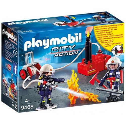 Playmobil® City Action - Firefighters With Water Pump (9468)